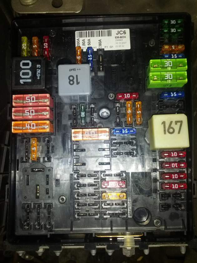 Mk6 Gti Fuse Box Diagram